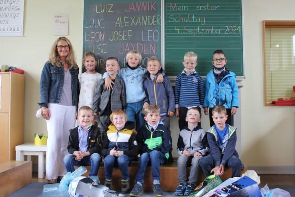 Einschulung 2021 Grundschule Bremke Gleichen